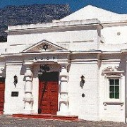 The Entrance seen here with Table Mountain in the background